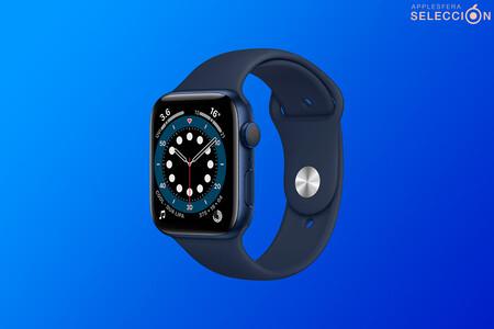Ahorra 80 euros en el Apple Watch Series 6 GPS de 44 mm, el smartwatch más avanzado de Apple hasta la fecha