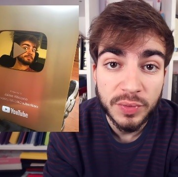 Jaime Altozano celebra el millón de suscriptores aunque su faceta youtuber no tenga límites