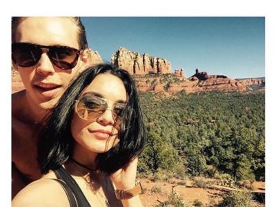 Vanessa Hudgens, su novio y la piedra prohibida