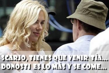 Woody Allen trae a Scarlett Johansson, Penélope Cruz y Bardem al festival de Donosti