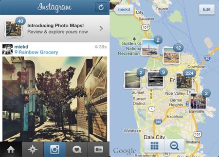 Instagram 3.0 coloca nuestras imágenes sobre el mapa