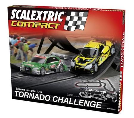 Scalextric Compact Tornado Challenge 11232014
