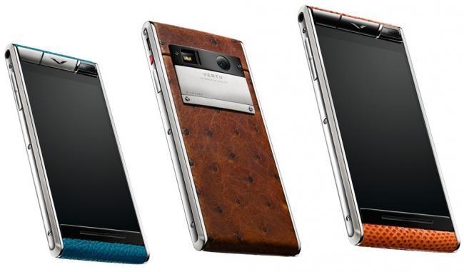 Vertu lanza sus smartphones con especificaciones de tope de gama a precios de gama media... de Vertu