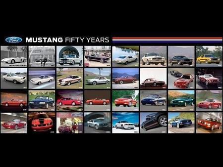 50 Aniversario Ford Mustang