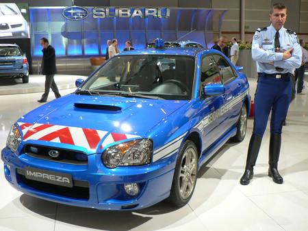 Subaru Impreza Gendarmerie