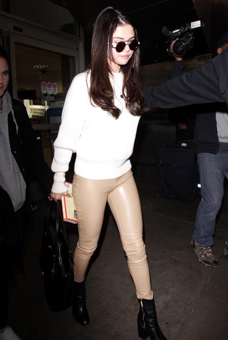 ¡Mira mamá, sin pantalones! Los leggings color carne, la tendencia que tendrás que mirar dos veces para no pensar mal