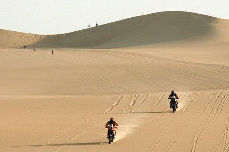 Rally de los Faraones 2010: El ecuador de la carrera