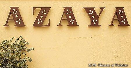 Restaurante Azaya, clasicismo en la Sierra de Madrid