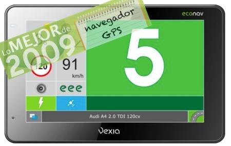 Vexia Econav 480, mejor GPS de 2009