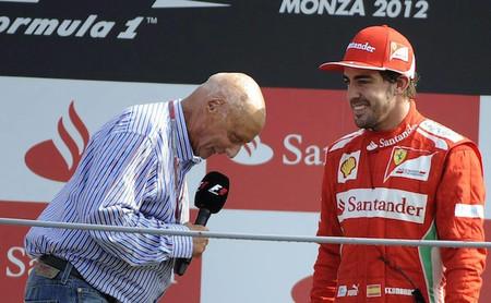 Niki Lauda recomienda a Fernando Alonso que vaya con cuidado con sus declaraciones sobre Ferrari