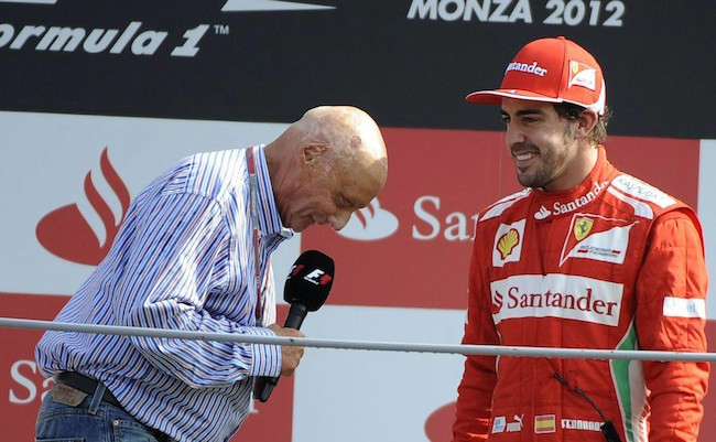 Resultado de imagen de Fernando Alonso niki lauda