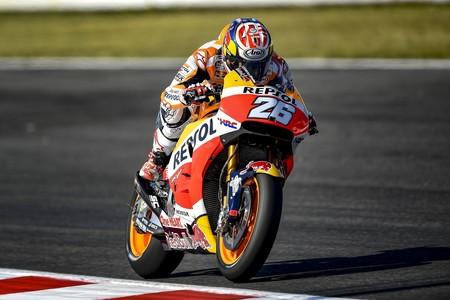 Dani Pedrosa marca el primer tanto en MotorLand con Lorenzo segundo, Márquez cuarto y las Yamaha muy mal