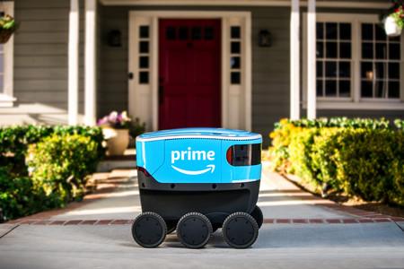 Así es Scout, el nuevo robot autónomo que ya reparte paquetes de Amazon