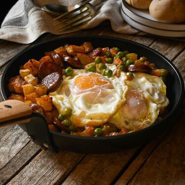 Huevos a la flamenca, receta del clásico más versátil y delicioso de la cocina española