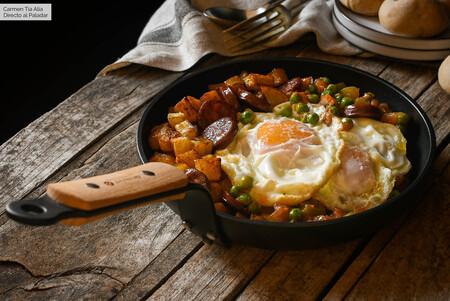 Huevos A La Flamenca Receta De Cocina Fácil Sencilla Y Deliciosa