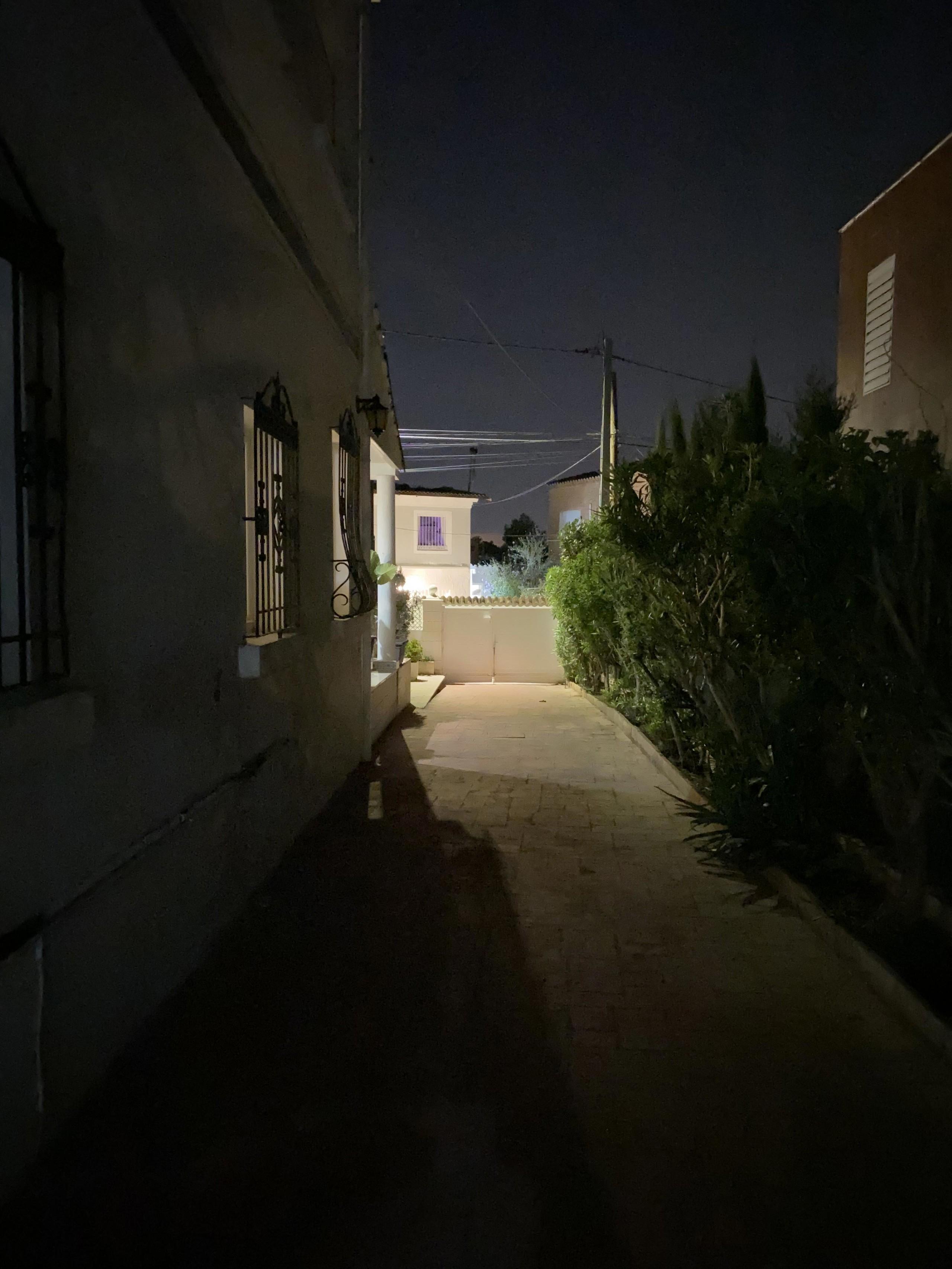 iPhone 11, modo noche