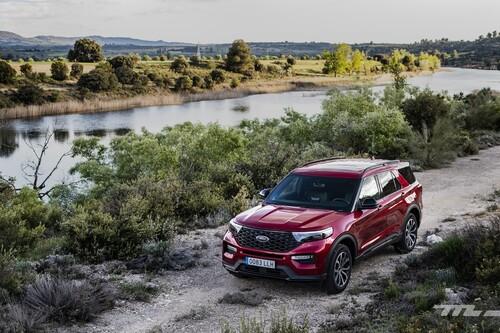 Probamos el Ford Explorer: un gran SUV tan confortable como potente, y con etiqueta CERO por la mínima