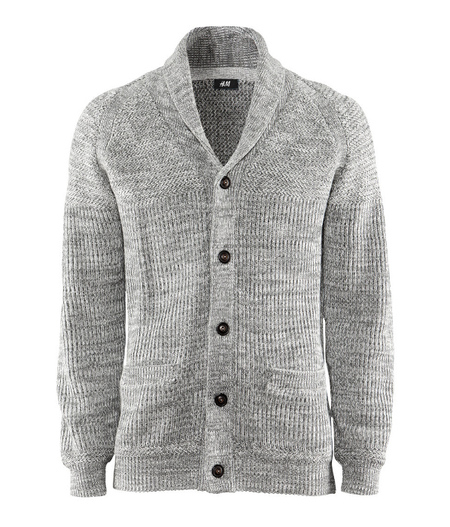 Cardigan gris H&M Primavera/Verano 2013