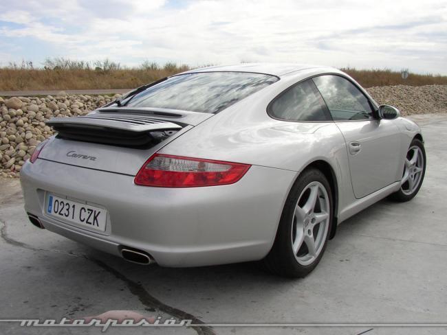 Porsche 911 997 trasera