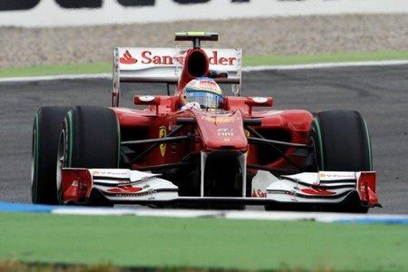 GP de Alemania 2010: Ferrari podría haber estrenado una gestión de gases al estilo Red bull