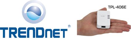 TRENDnet TPL-406E, adaptador PLC de 500 Mbps que cabe en la palma de la mano
