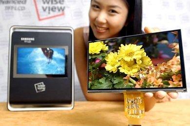 Pantalla de 7 pulgadas WVGA de Samsung