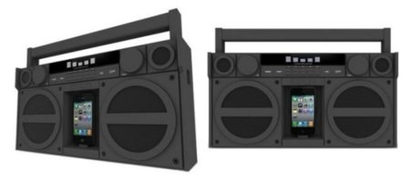 iHome iP4, boombox para el iPod o iPhone