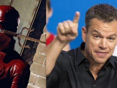 Matt Damon rechazó ser Daredevil... pero aceptaría si Nolan se lo pide