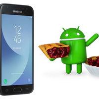 El Samsung Galaxy J3 (2017) comienza a recibir Android 9 Pie en la que puede ser su última gran actualización