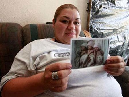 El caso de la mujer que iba a tener nueve hijos y al final resultó ser mentira