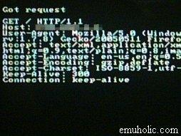 Servidor web en la PSP