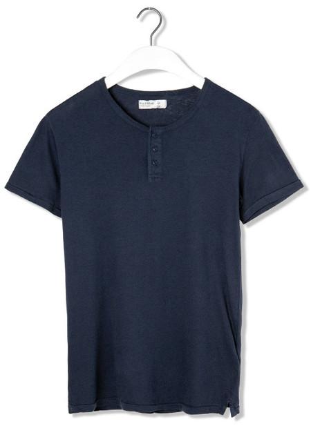 Camiseta cuello panadero Heritage Pull & Bear