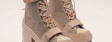 Las Converse también son aptas para el invierno: siete modelos en forma de bota que nos ayudan a afrontar el frío