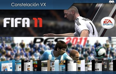 'Fifa 11' vs 'PES 2011', 3D sin gafas y atajos de teclado para Mac. Constelación VX (XXVI)