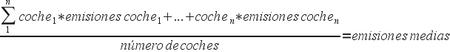 Calculo de emisiones de CO2