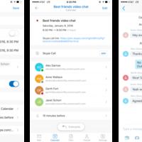 Outlook para iOS permite ahora mantener conferencias on-line mediante Skype