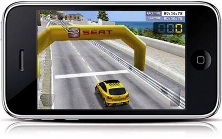 iPhone - Seat Cupra Game