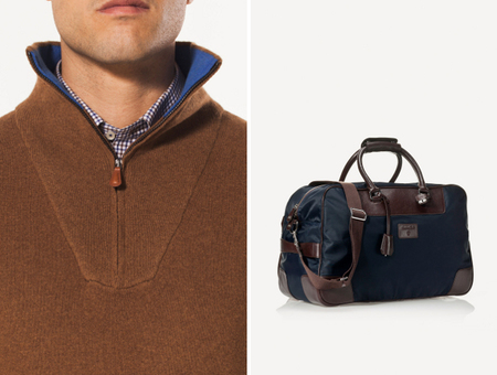 Massimo Dutti Diciembre Jersey y maleta