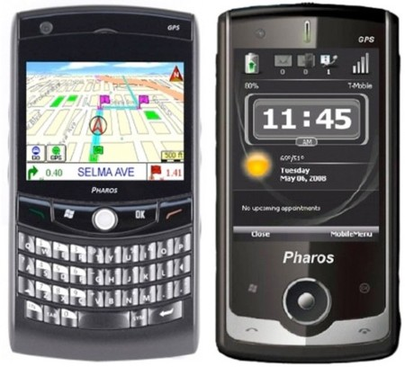 Pharos Traveller 117 y 127, con Windows Mobile 6.1