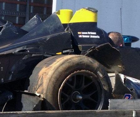 El Nissan-DeltaWing sufre un accidente en los entrenamientos libres de Petit Le mans (Actualizado)