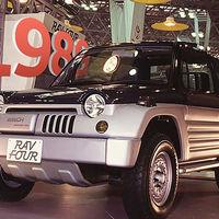 Este prototipo fue el germen que desató la fiebre de los SUV, el Toyota RAV-Four