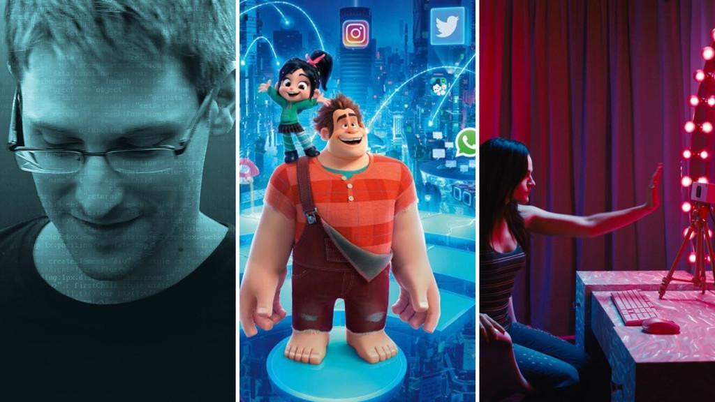 'Ralph rompe Internet', pero no es el primero: estas 9 películas navegaron antes por la Red