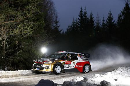 Rally de Suecia 2014: Mads Østberg domina un shakedown sin historia