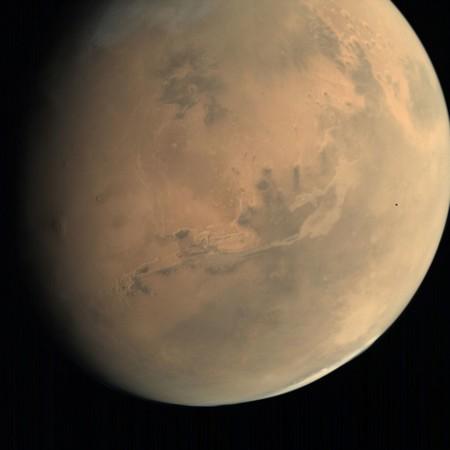 Se conocen nuevas imágenes de Marte gracias a la Organización de Investigación Espacial de la India