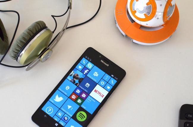 Lumia 950 Rendimiento