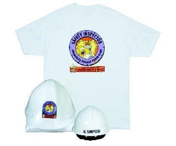 Camiseta y casco de Homer Simpson