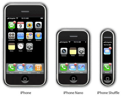 El iPhone 3G podría ser más delgado y ligero