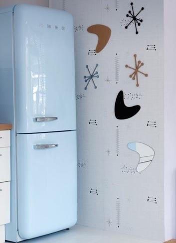 Papel pintado magnético, decorativo y divertido