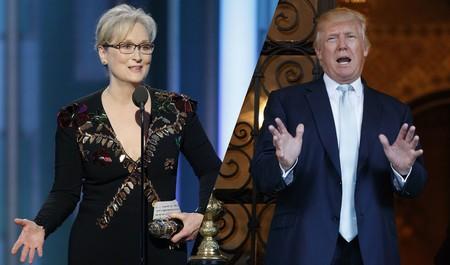 Hollywood, artistas y autores critican a Donald Trump por atacar a Meryl Streep