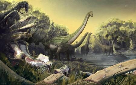Esta nueva especie identificada de especie de titanosaurio tiene cinco toneladas